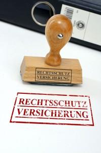 """""""Rechtsschutz Versicherung"""" Stempel"""
